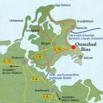 Rügen-Landkarte