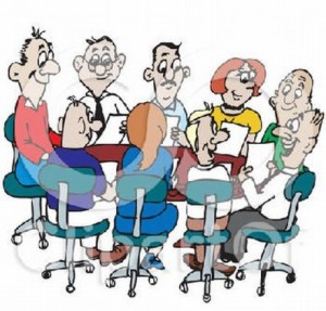 Vorstandssitzung-garten